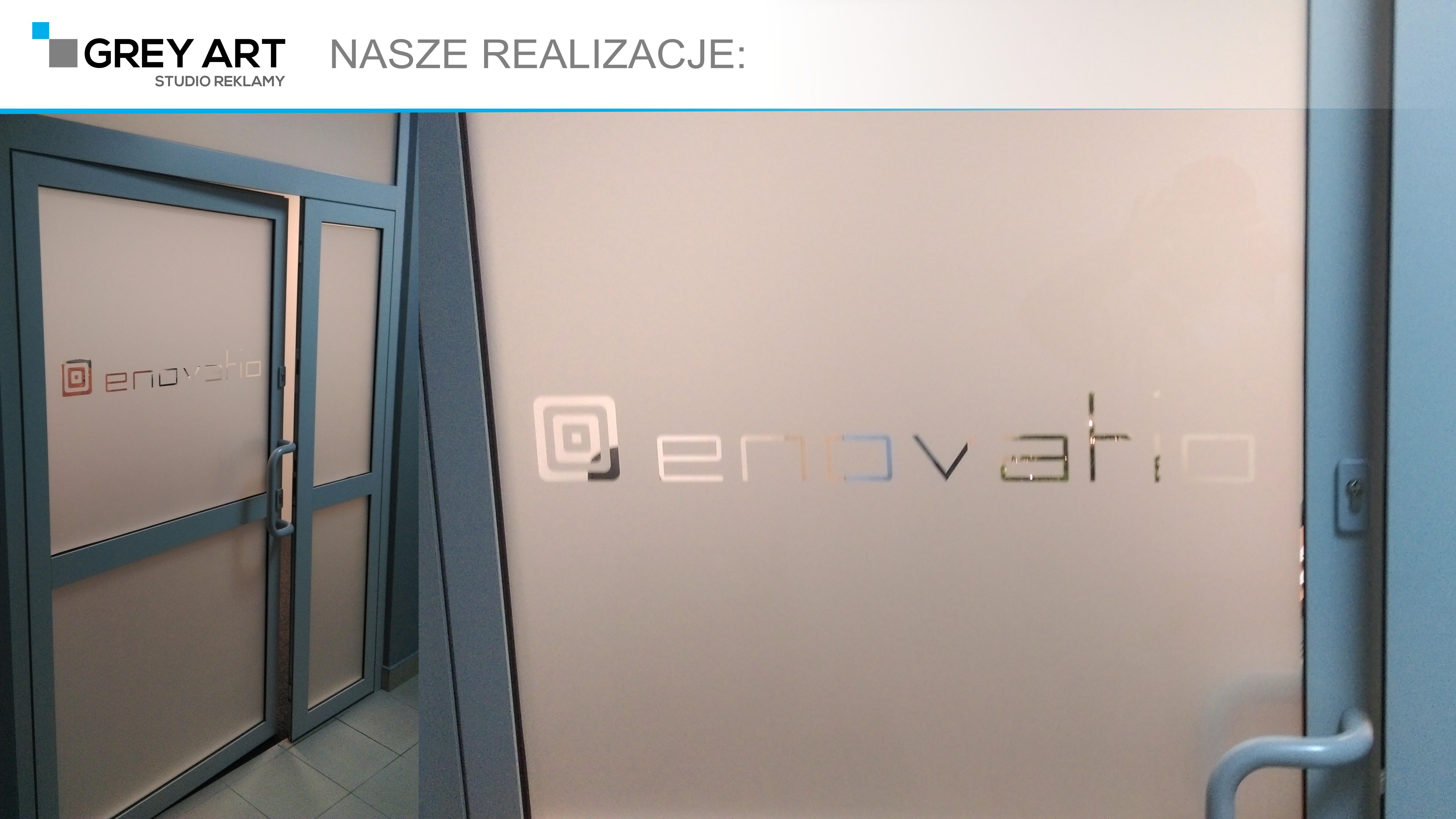 enovatio – oklejanie drzwi