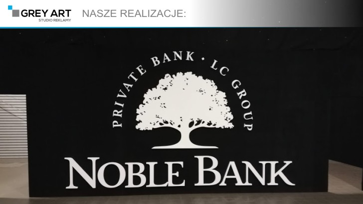 Litery 3d – Noble Bank
